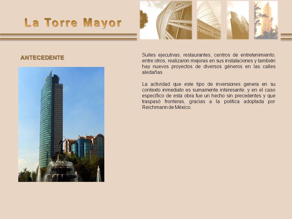 http://www.tegsa.com/fotos/torre-mayor.html http://www.torremayor.com.mx http://www.skyscrapercity.com/showthread.php%3F t%3D247826&usg=__l3zr56LlwlXD5JUBSubIy8sB- c4=&h=600&w=800&sz=39&hl=es&start=17&tbnid= UN6_15j8CW5_mM:&tbnh=107&tbnw=143&prev=/i mages%3Fq%3Dconstrucci%25C3%25B3n%2Bde %2Bla%2Btorre%2Bmayor%26gbv%3D2%26hl%3 Des%26sa%3DG http://www.tegsa.com/fotos/torre- mayor.html&usg=__1Wk7ltC1pCcuaAMkdJ1_CyAz H1U=&h=240&w=320&sz=19&hl=es&start=10&tbni d=xjAFmtVUlcGCPM:&tbnh=89&tbnw=118&prev=/i mages%3Fq%3Dla%2Btorre%2Bmayor%2Ben%2B obra%26gbv%3D2%26hl%3Des%26sa%3DG http://www.losconstructores.com/BancoConocimient o/T/TorreMayor/Estructuradeledificio.htm Paginas web