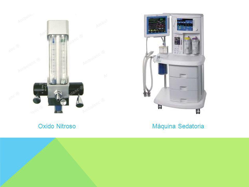 Oxido Nitroso Máquina Sedatoria