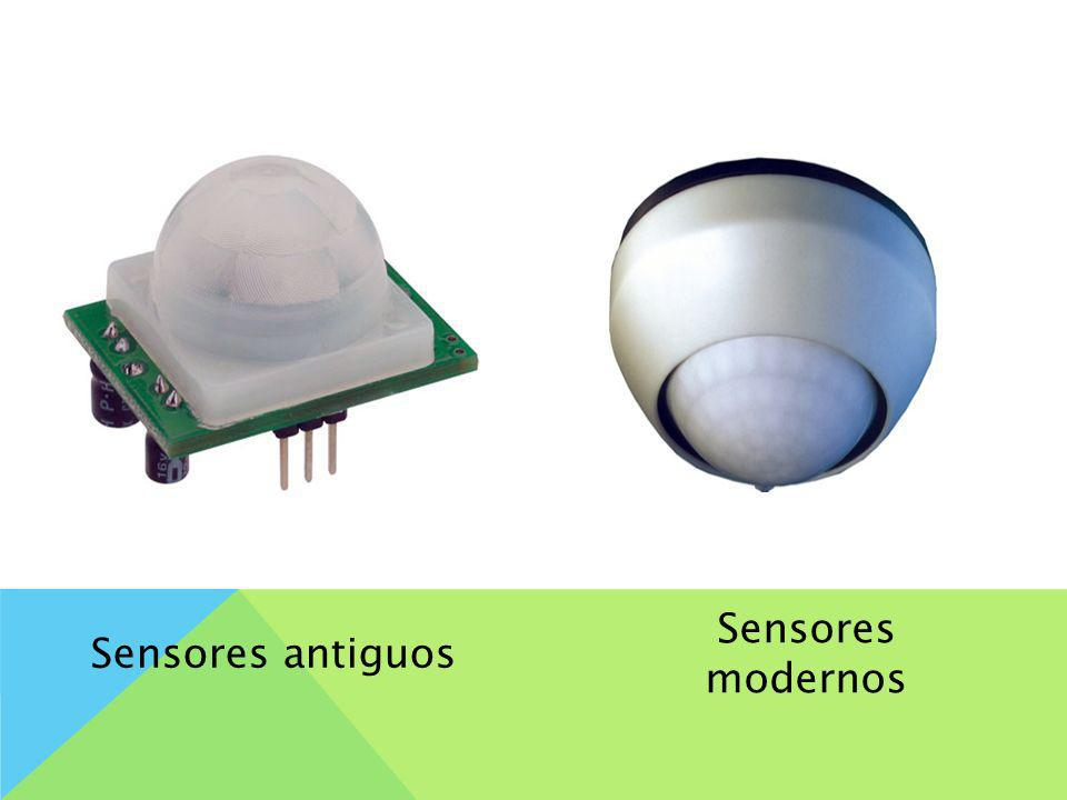 Sensores antiguos Sensores modernos