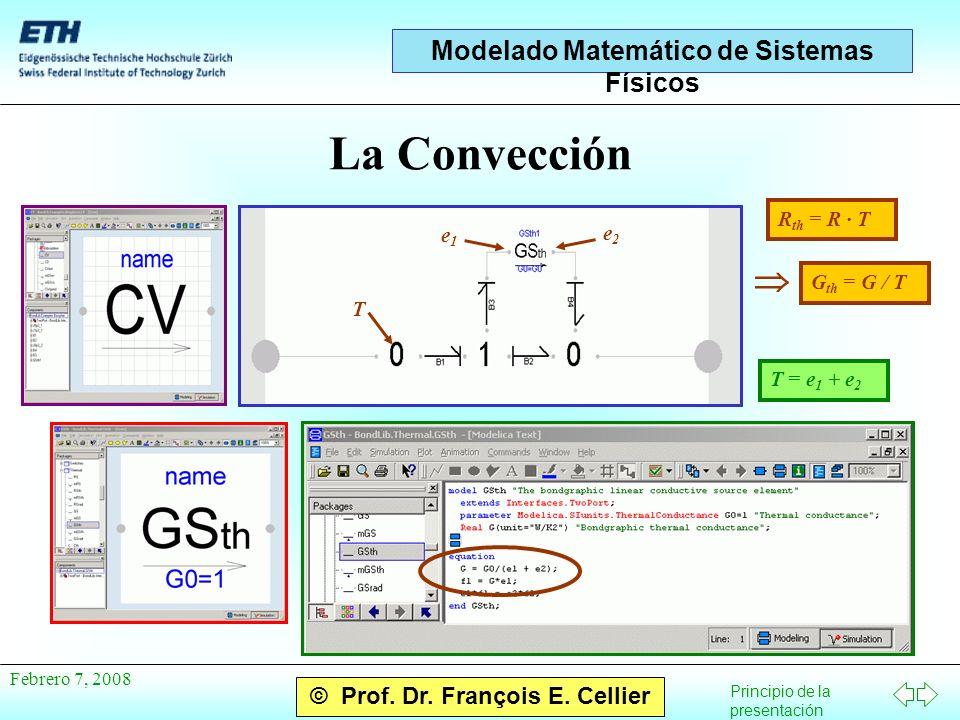 Principio de la presentación © Prof. Dr. François E.
