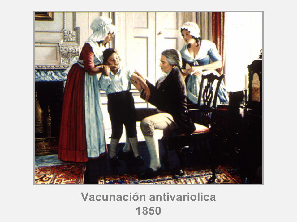 Vacunación antivariolica 1850