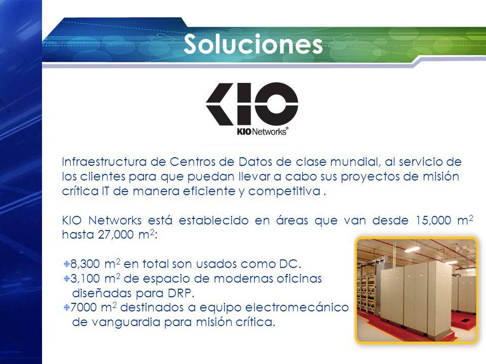 Soluciones Infraestructura de Centros de Datos de clase mundial, al servicio de los clientes para que puedan llevar a cabo sus proyectos de misión crí