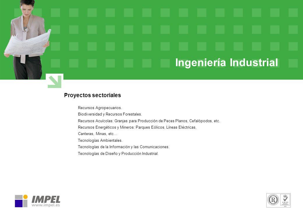 Ingeniería Industrial Proyectos sectoriales Recursos Agropecuarios. Biodiversidad y Recursos Forestales. Recursos Acuícolas: Granjas para Producción d