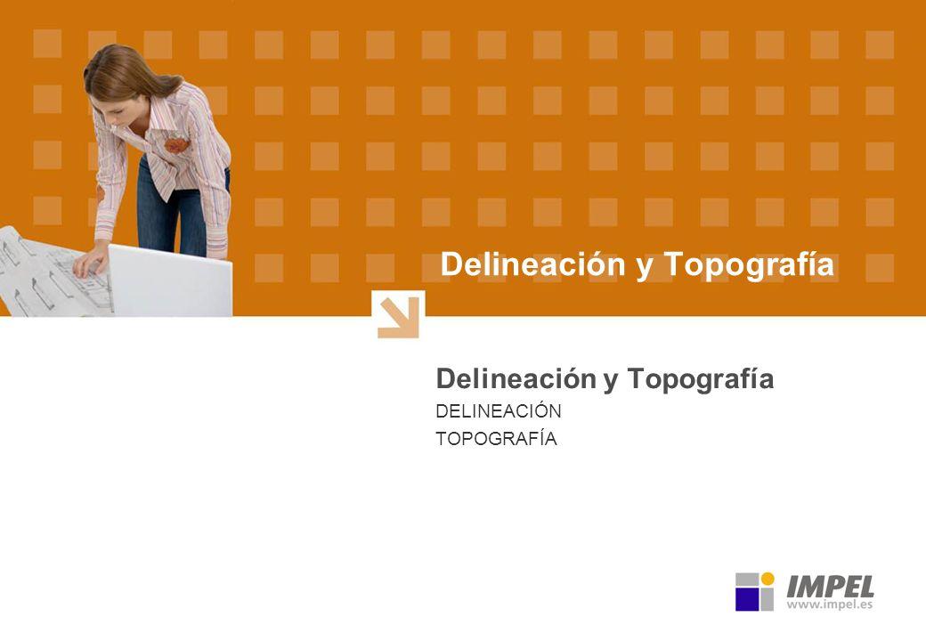 Delineación y Topografía DELINEACIÓN TOPOGRAFÍA
