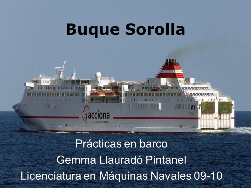 CARACTERÍSTICAS PRINCIPALES Compañía: Trasmediterránea Tipo: RO – PAX Eslora Total172,00 m.