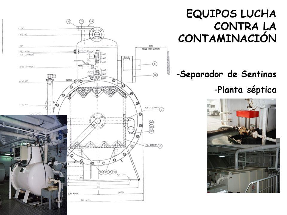 OTROS EQUIPOS -Aire acondicionado -Hélices de proa