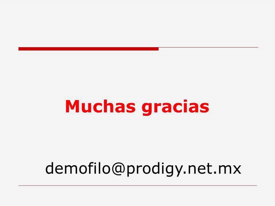 demofilo@prodigy.net.mx Muchas gracias