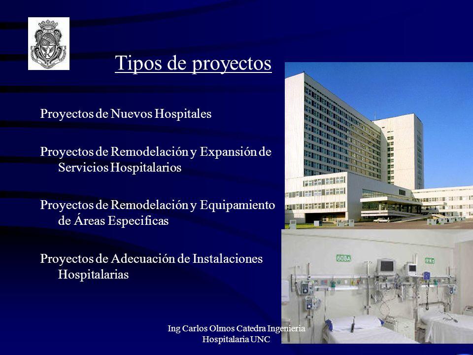 Infraestructura Hospitalaria Ing Carlos Olmos Catedra Ingenieria Hospitalaria UNC