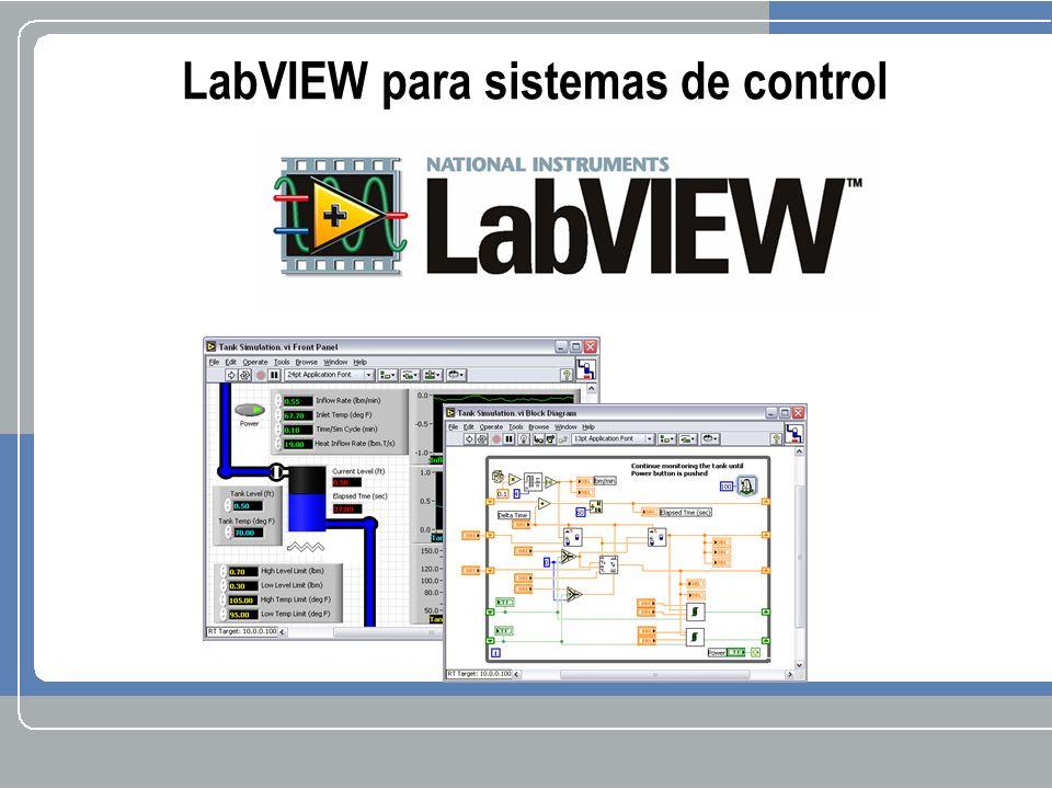 LabVIEW para sistemas de control