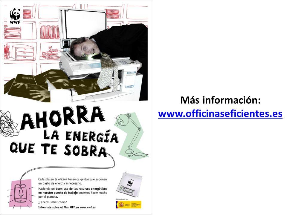 Más información: www.officinaseficientes.es www.officinaseficientes.es