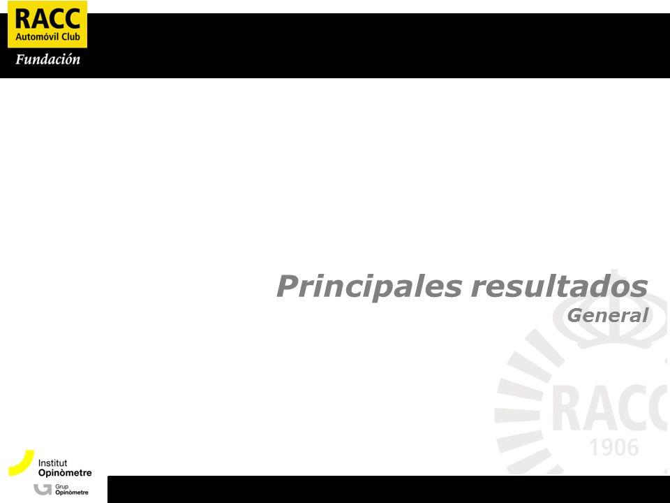 Principales resultados General