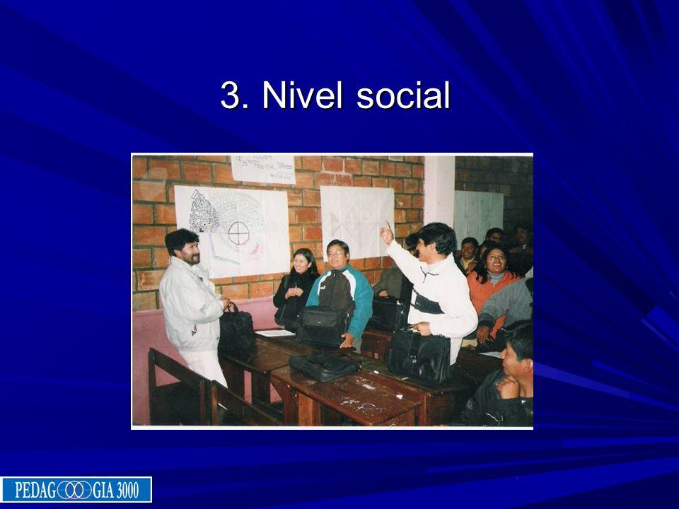 3. Nivel social