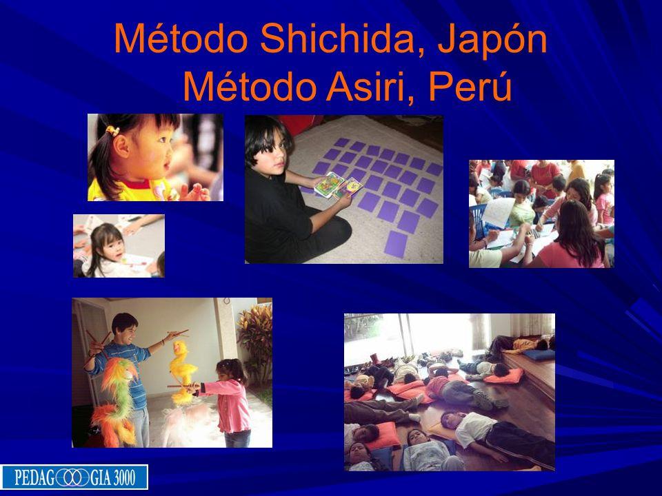 Método Shichida, Japón Método Asiri, Perú