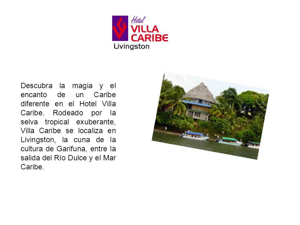 Descubra la magia y el encanto de un Caribe diferente en el Hotel Villa Caribe. Rodeado por la selva tropical exuberante, Villa Caribe se localiza en