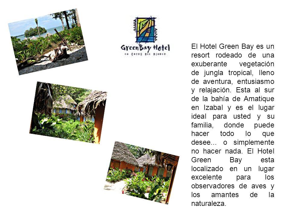 El Hotel Green Bay es un resort rodeado de una exuberante vegetación de jungla tropical, lleno de aventura, entusiasmo y relajación. Esta al sur de la