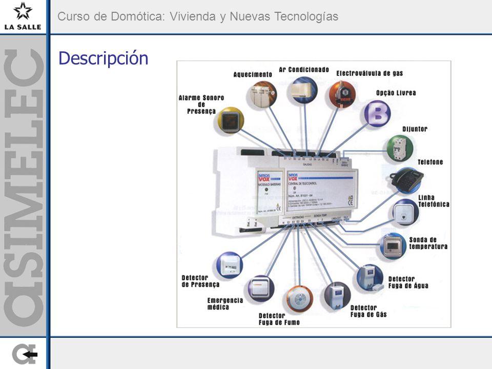 Curso de Domótica: Vivienda y Nuevas Tecnologías Descripción