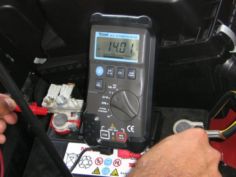 (1/3) La lógica tras la localización y reparación de averías de circuito eléctricos Ejemplo: [A]-Interruptor de encendido ON [B]-Interruptor de encendido y SW1 ON [C]-Interruptor de encendido, SW1 y relé ON (SW2 OFF) a interruptor de encendido Terminal IG Fusible [A] Voltímetro SW 1 [B] Relé SW 2Solenoide [C] 1.