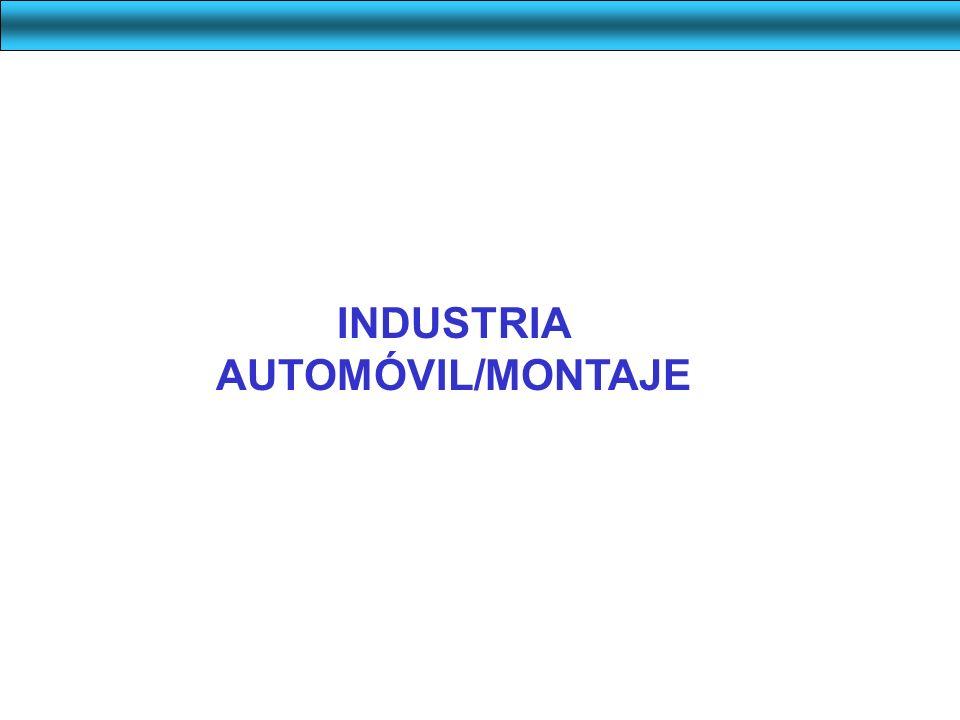 INDUSTRIA AUTOMÓVIL/MONTAJE