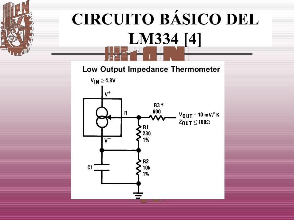 CIRCUITO BÁSICO DEL LM334 [4]