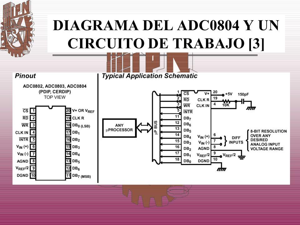 DIAGRAMA DEL ADC0804 Y UN CIRCUITO DE TRABAJO [3]