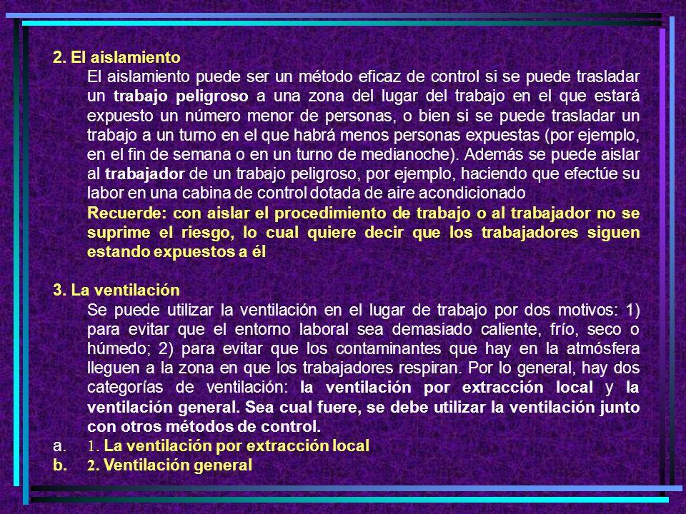 C. LOS CONTROLES MECANICOS Hay distintas medidas de control habituales que se denominan