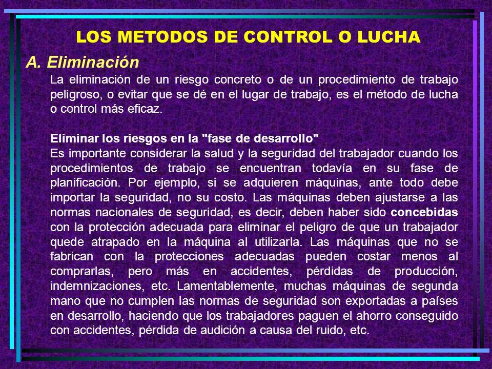 PUNTOS QUE HAY QUE RECORDAR SOBRE LOS CONTROLES MECANICOS 1.Los controles mecánicos comprenden el confinamiento, el aislamiento y la ventilación.