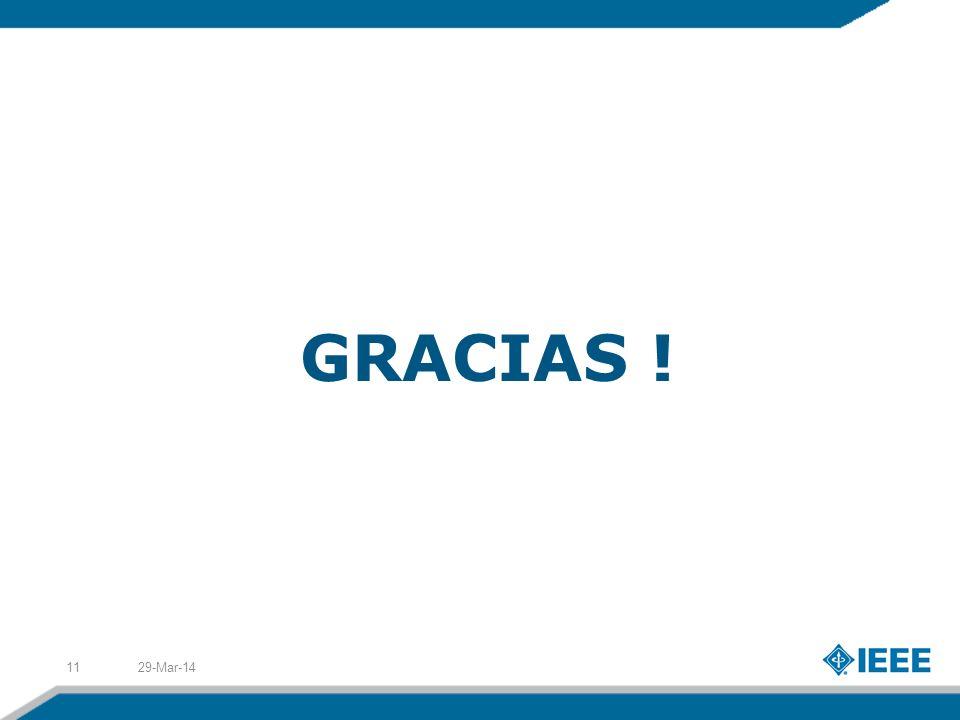 GRACIAS ! 29-Mar-1411