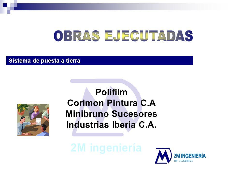 Sistema de puesta a tierra Polifilm Corimon Pintura C.A Minibruno Sucesores Industrias Iberia C.A.