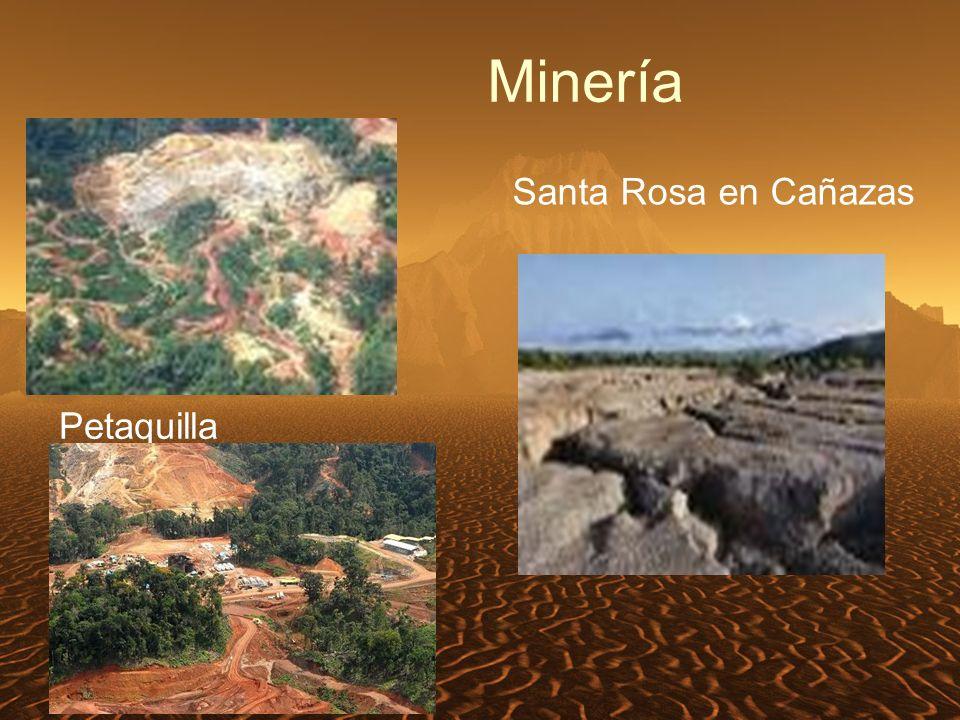Minería Santa Rosa en Cañazas Petaquilla
