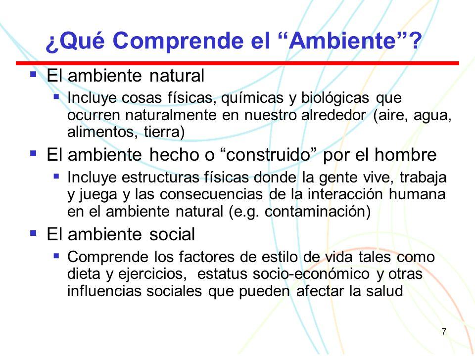 7 ¿Qué Comprende el Ambiente.