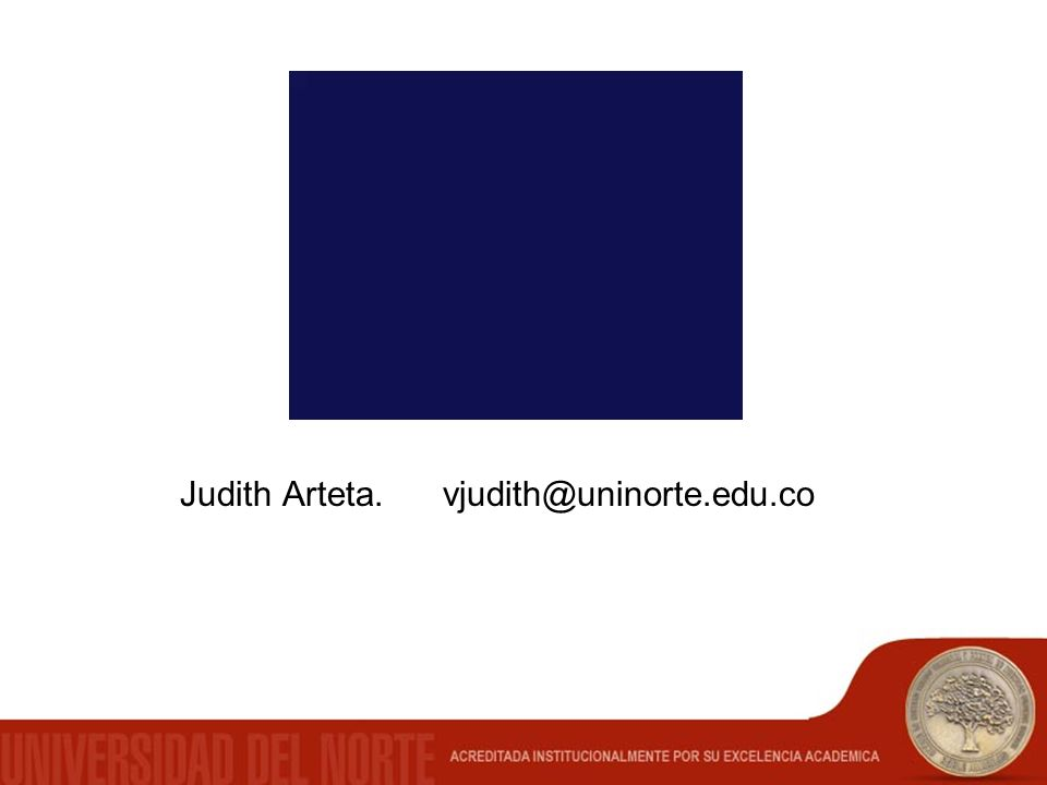 Judith Arteta. vjudith@uninorte.edu.co
