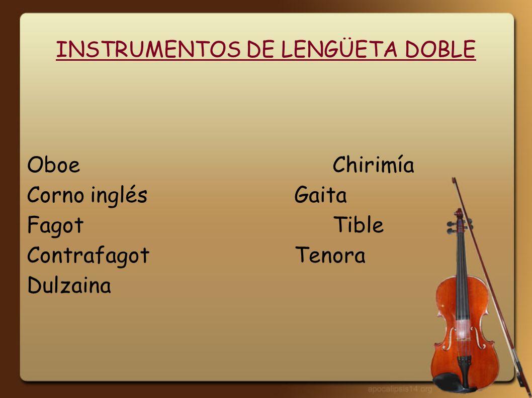 INSTRUMENTOS DE EMBOCADURA CÓNICA Trompeta Trompa Trombón Tuba Serpentón Corneto