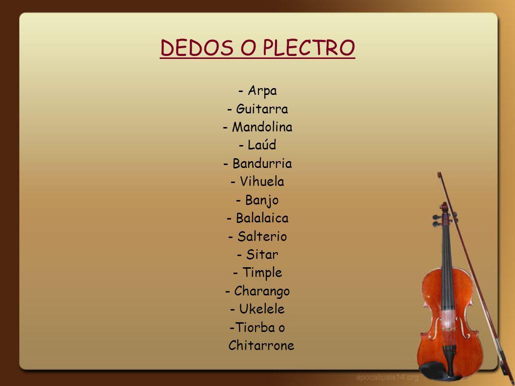 FROTADOS CON ARCO -Violín- Contrabajo - Viola- Rabel - Violoncelo- Viola de gamba