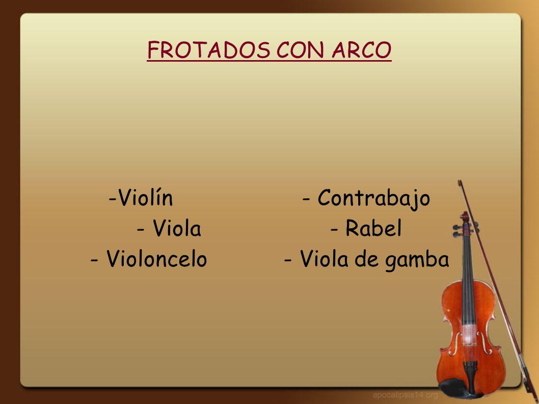 FROTADOS CON RUEDA Zanfona o Viola de rueda