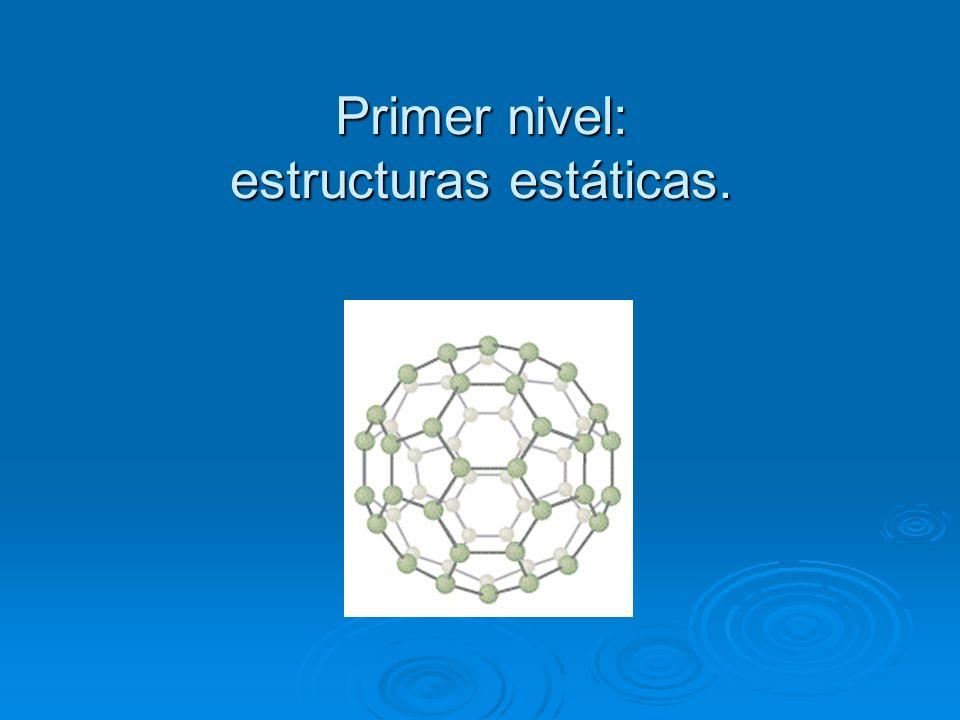 ORDENAMIENTO JERARQUICO DE LOS NIVELES ( Ordenamiento dado por Boulding) 1Estructuras estáticas (electrones dentro del átomo) 2Sistemas dinámicos simp