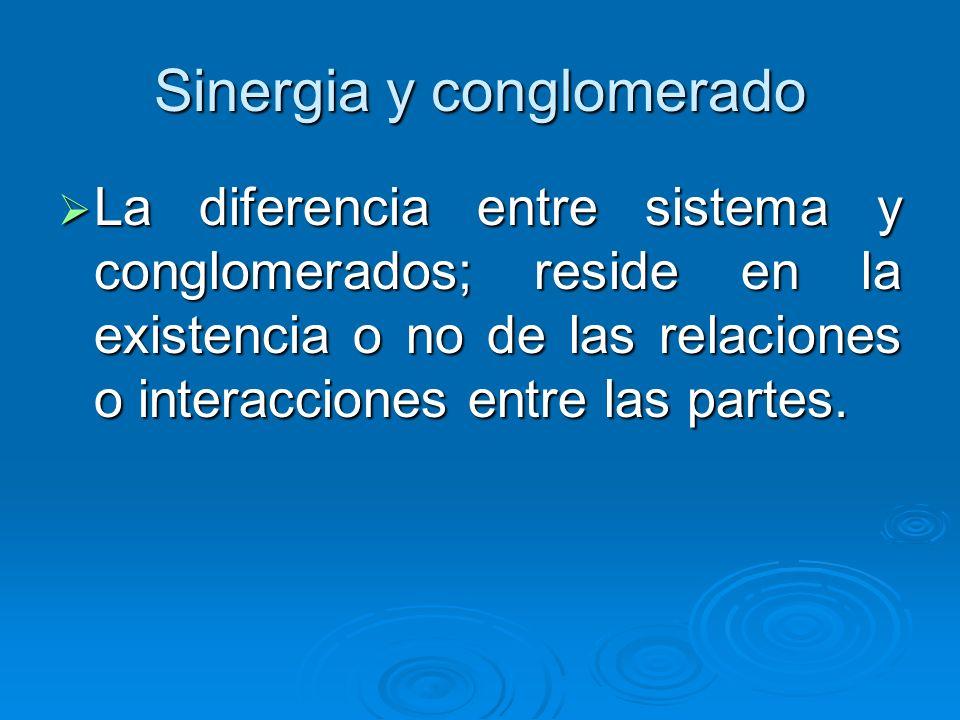 Conglomerado Es un conjunto de objetos de los cuales abstraemos ciertas características es decir eliminamos aquellos factores ajenos al estudio y lueg
