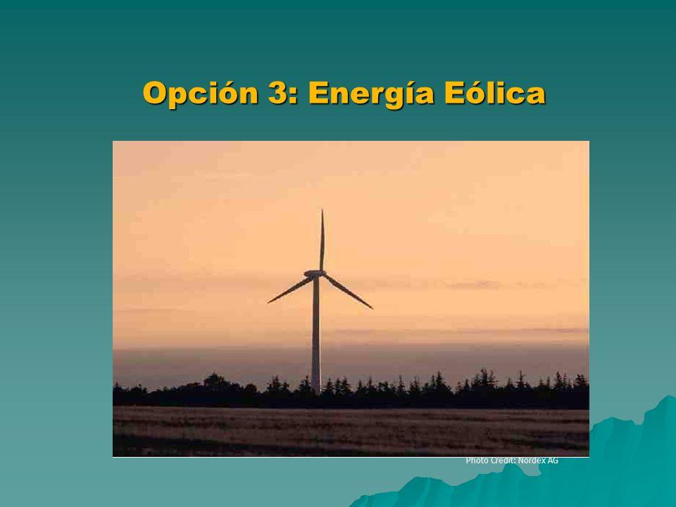 Photo Credit: Nordex AG Clean Energy Project Analysis Course Opción 3: Energía Eólica Utility-Scale Turbine