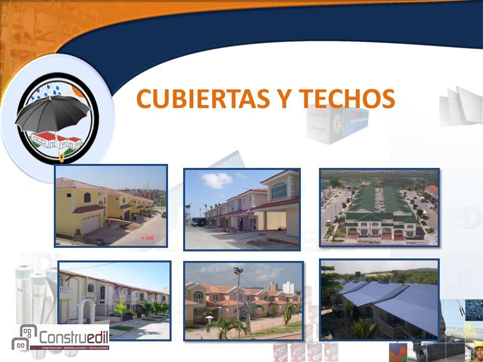 CUBIERTAS Y TECHOS