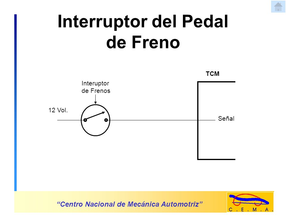 Sensor de Velocidad Centro Nacional de Mecánica Automotriz Rotor Sensor NS TCM