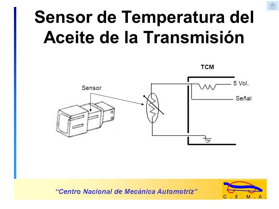Solenoides de Cambios Centro Nacional de Mecánica Automotriz TCM Solenoide 12 Vol.