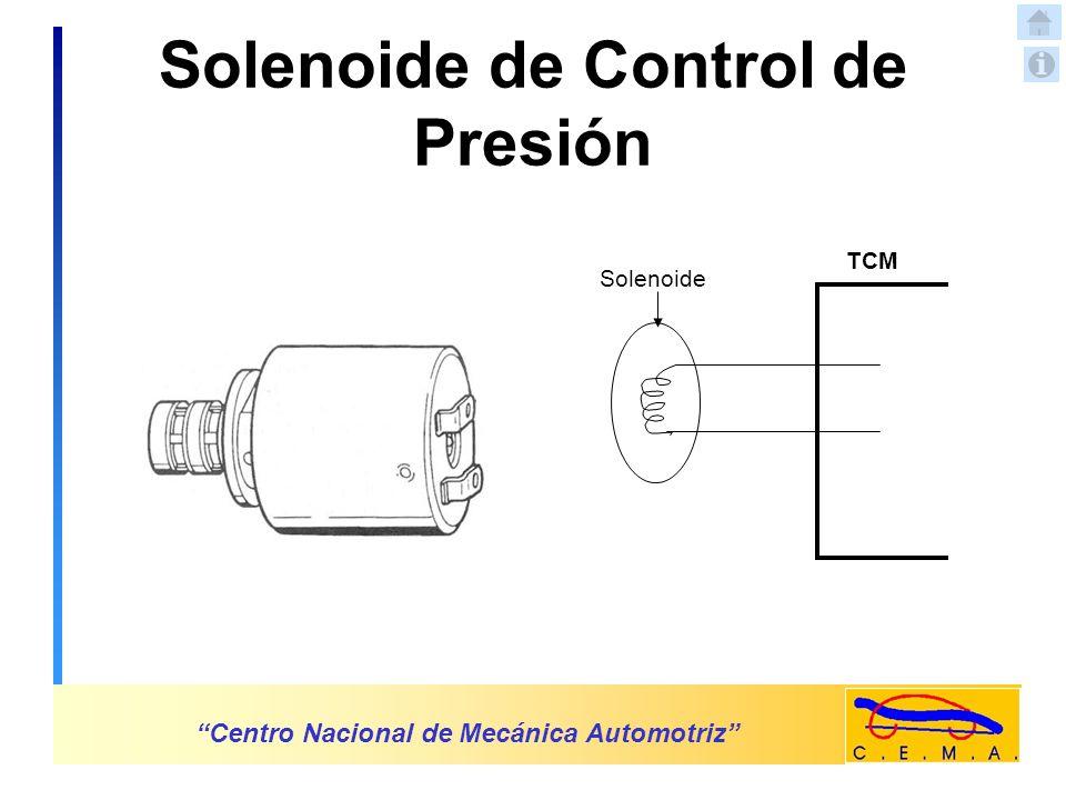 Sensor de Temperatura del Aceite de la Transmisión Centro Nacional de Mecánica Automotriz 5 Vol.