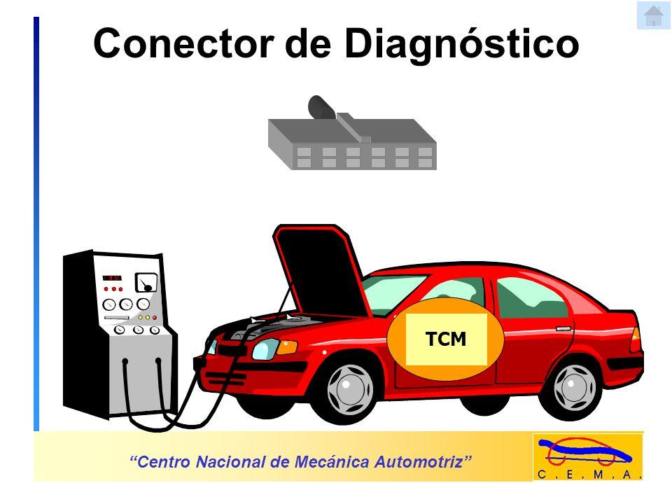 Solenoide de Control de Presión Centro Nacional de Mecánica Automotriz TCM Solenoide