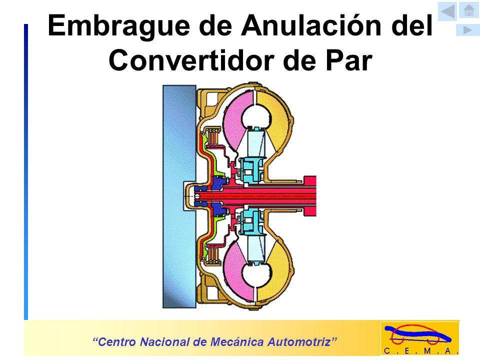 Solenoide Anulador del Convertido de Par Centro Nacional de Mecánica Automotriz TCM Solenoide