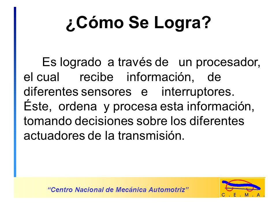 ¿Por Qué Control Electrónico En La Transmisión.