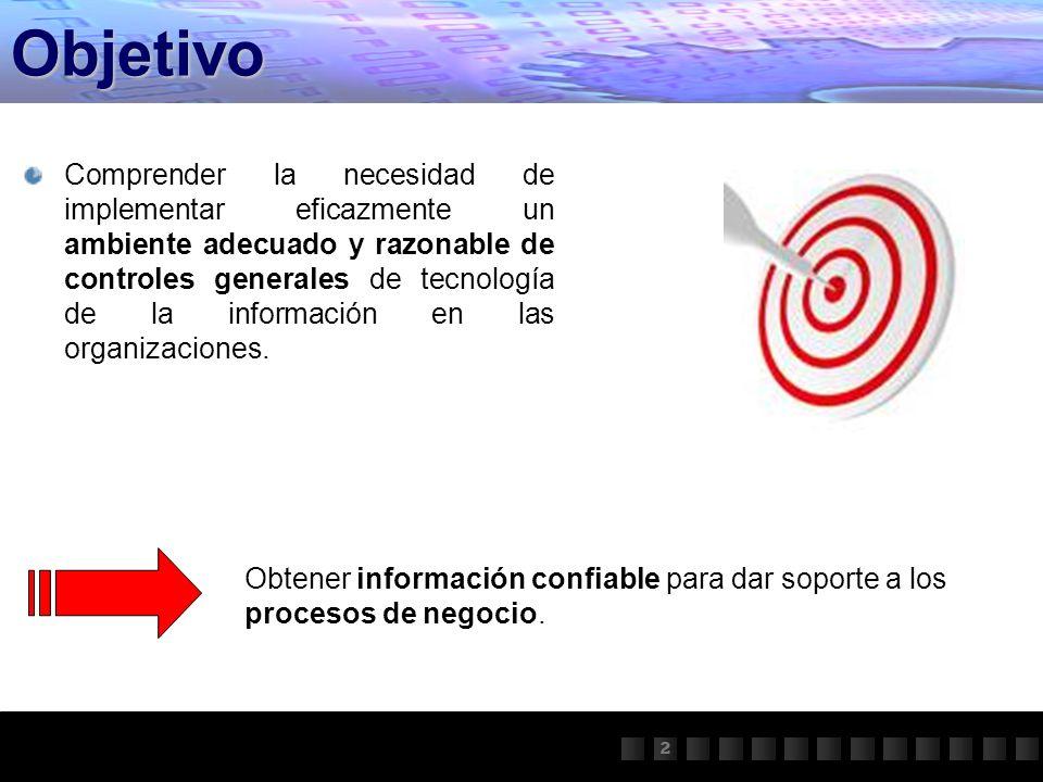 Procesos de Negocio ¿Por qué Controles Generales.