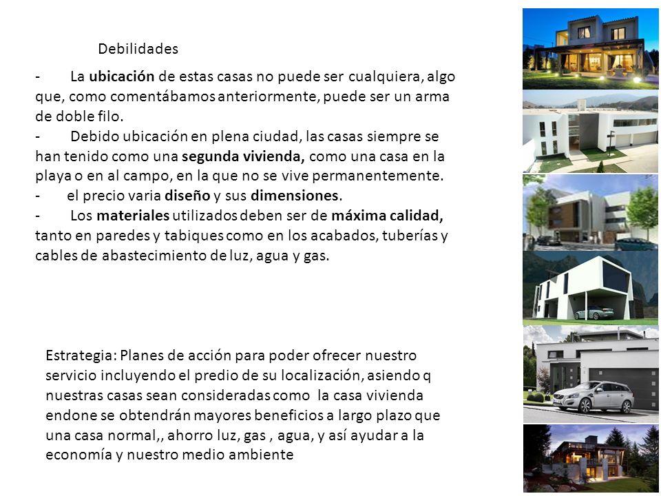 Debilidades - La ubicación de estas casas no puede ser cualquiera, algo que, como comentábamos anteriormente, puede ser un arma de doble filo.