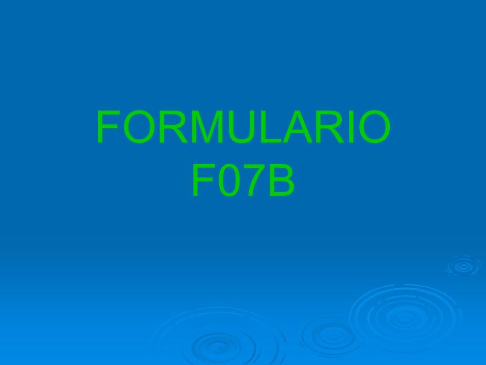 FORMULARIO F07B