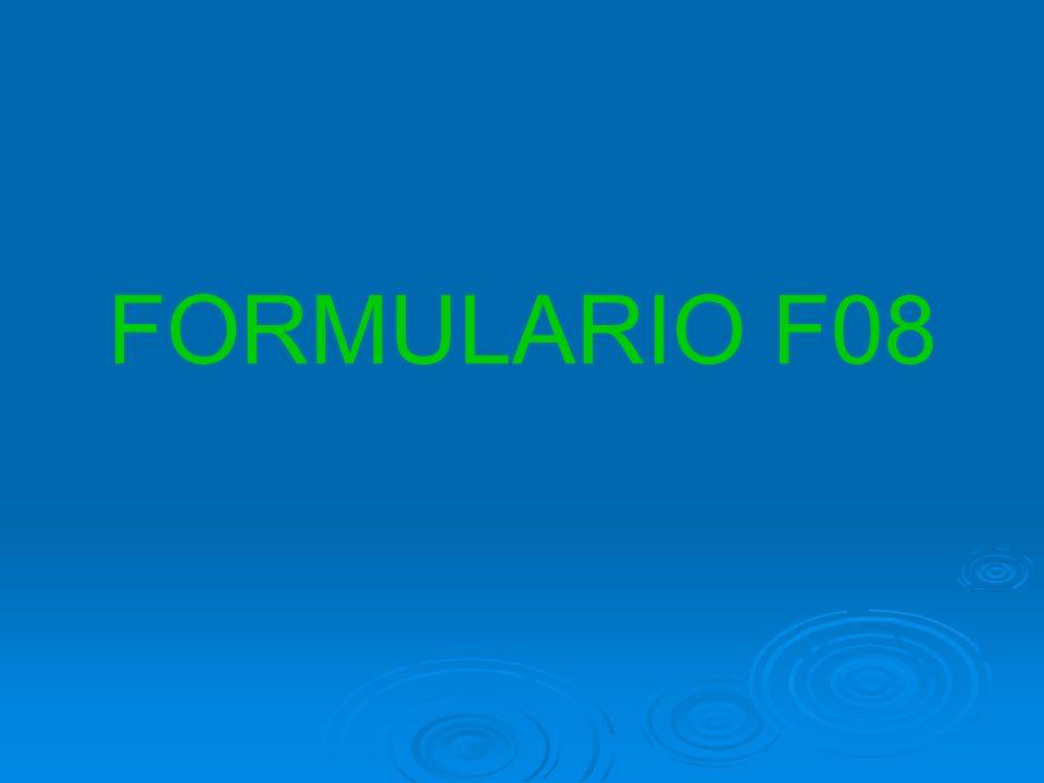 FORMULARIO F08