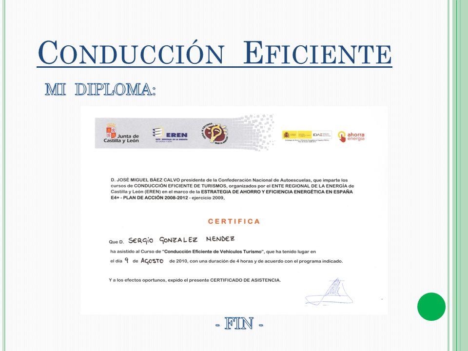 C ONDUCCIÓN E FICIENTE