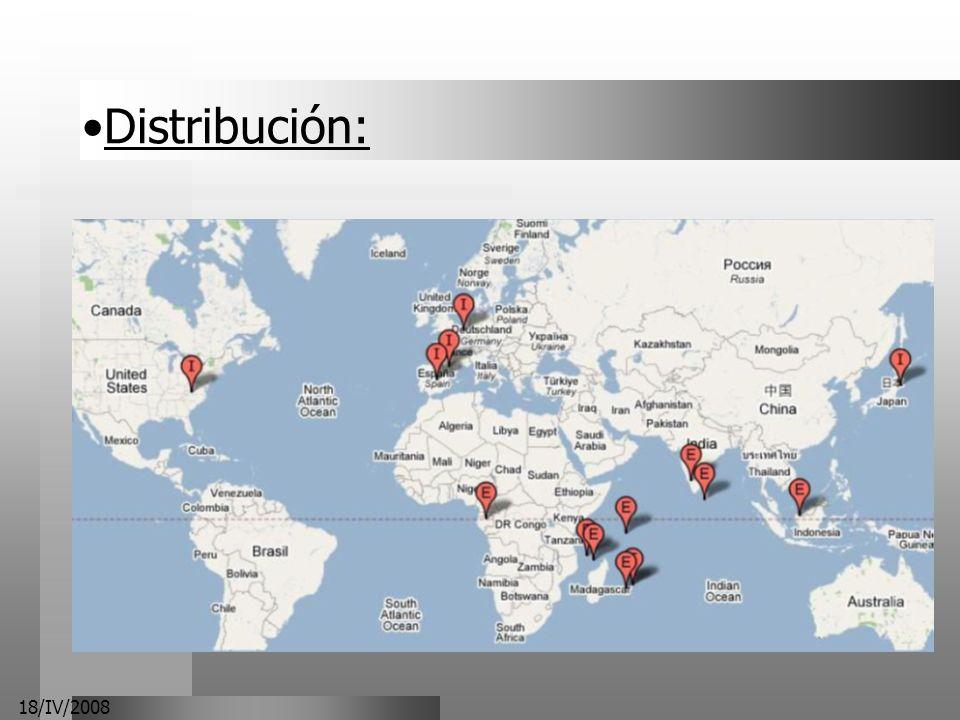 18/IV/2008 Distribución: